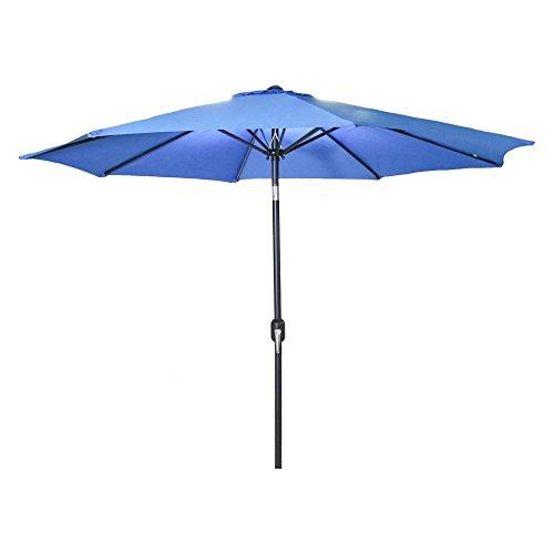 9 FT Steel Market Umbrella in Royal