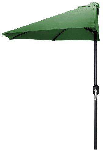 9 FT Half Umbrella in Green