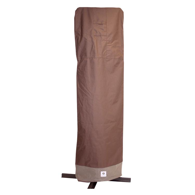 Duck Covers Ultimate 101 in. Patio Offset Umbrella Cover with Integrated Installation Pole