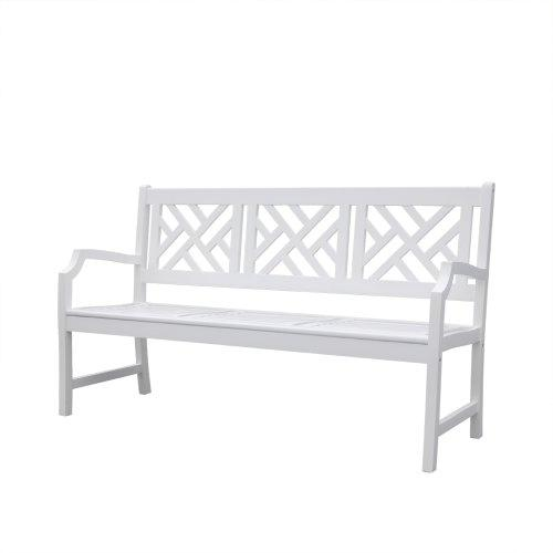 Bradley Outdoor Wood Bench - [V1342]
