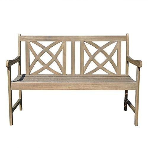 Renaissance Eco-friendly 4-foot Outdoor Hand-scraped Hardwood Garden Bench [Item # V1615]