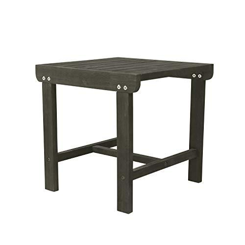 DVG Renaissance Outdoor Patio Wood Side Table