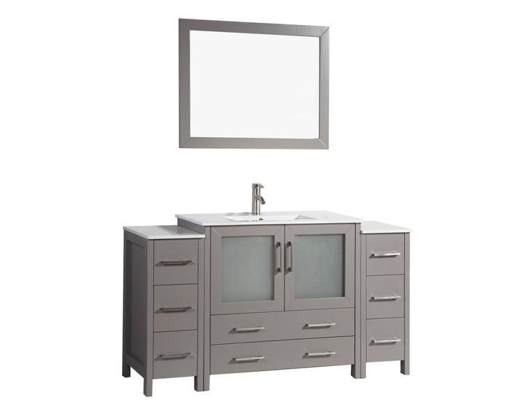 60 Inch Single Sink Bathroom Vanity Set