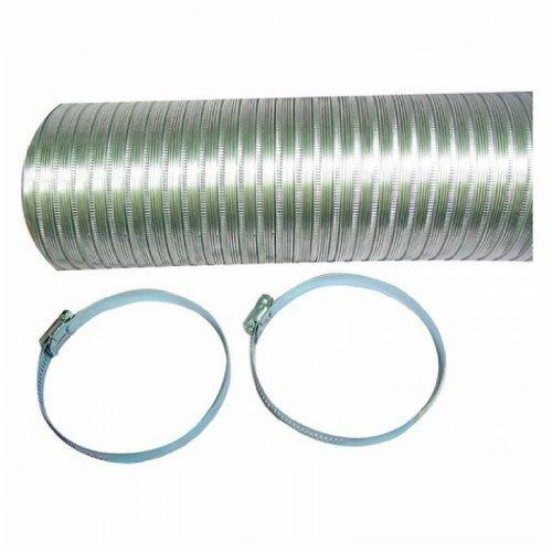 DEFLECTO A048MX/9 Semi-Rigid Flexible Aluminum Duct (4
