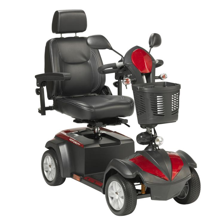 Ventura Power Mobility Scooter, 4 Wheel, 20