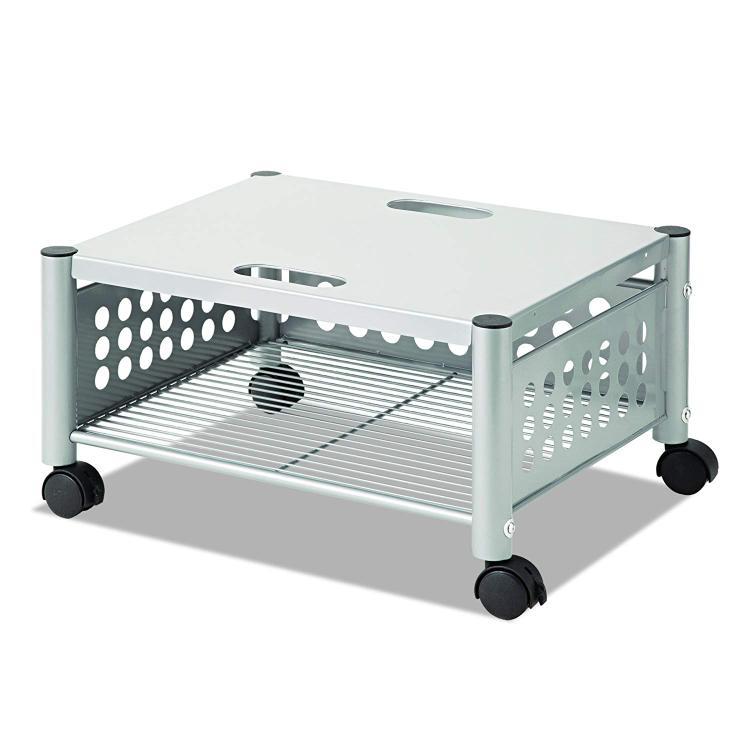 Vertiflex® Underdesk Machine Stand, Matte Gray