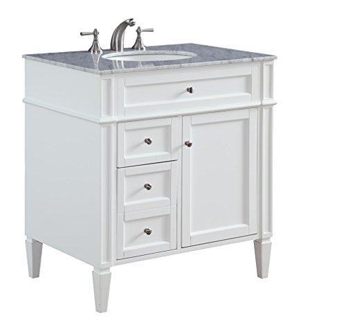 32 in. Single Bathroom Vanity set in White