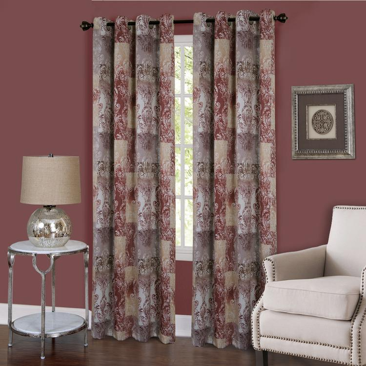 Vogue Window Curtain Grommet Panel