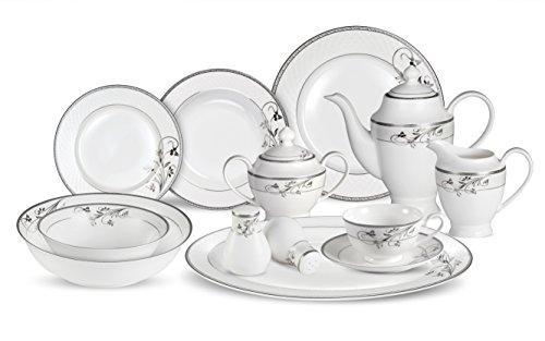 Lorren Home Trends 57 Pc Dinnerware Set