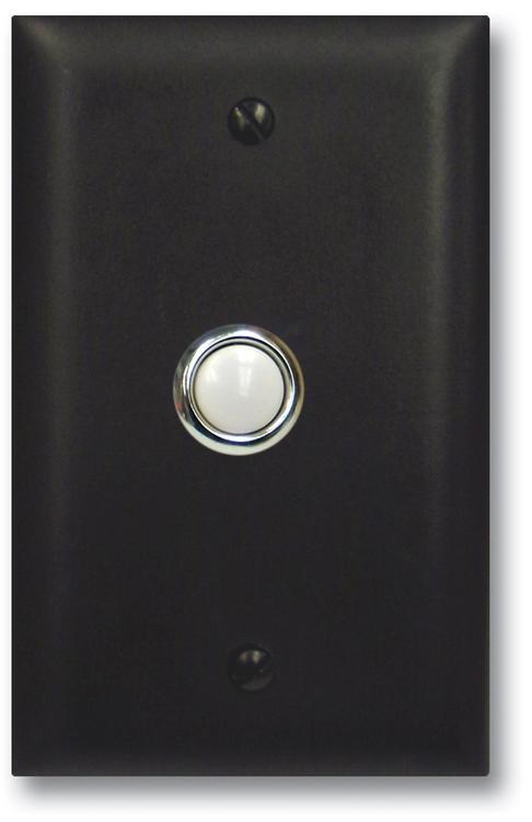 Door Bell Button Panel in Bronze [Item # VK-DB-40-BN]