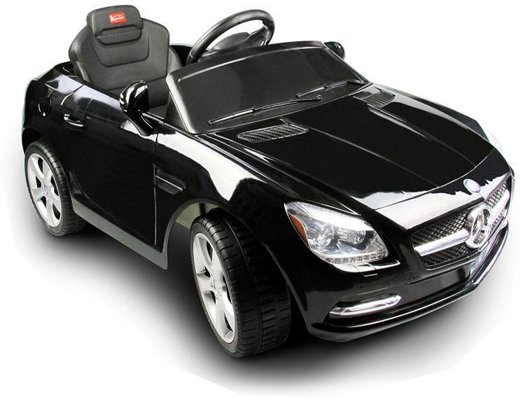 Mercedes-Benz SLK Rastar 6V - Battery Operated/Remote Controlled (Black)