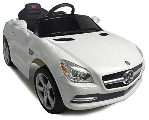 Mercedes-Benz SLK Rastar 6V - Battery Operated/Remote Controlled (White)