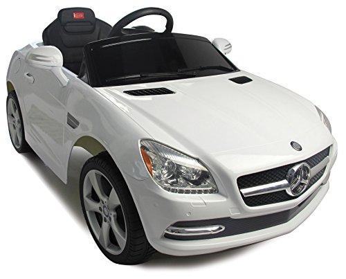 Mercedes-Benz SLK Rastar 6V - Battery Operated/Remote Controlled (White)