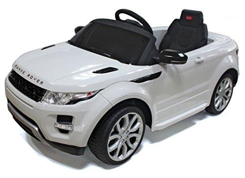 Range Rover Rastar 12V - Battery Operated/Remote Controlled (White)