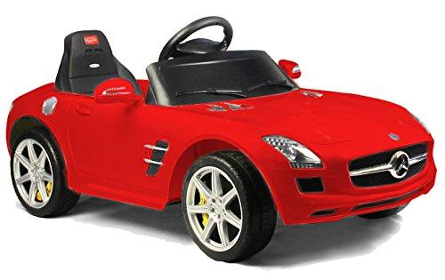Mercedes-Benz SLS AMG Rastar 6V - Battery Operated/Remote Controlled (Red)