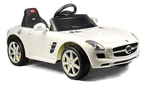 Mercedes-Benz SLS AMG Rastar 6V - Battery Operated/Remote Controlled (White)