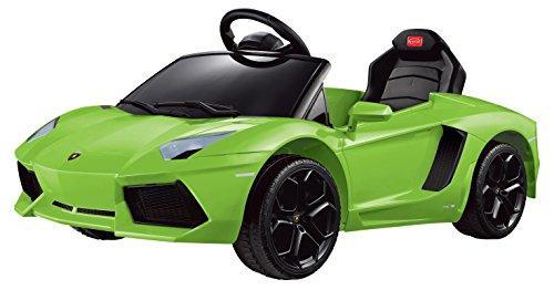 Lamborghini Aventador LP700-4 Rastar 6V - Battery Operated/Remote Controlled (Green)