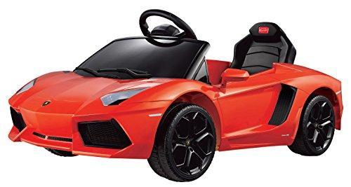 Lamborghini Aventador LP700-4 Rastar 6V - Battery Operated/Remote Controlled (Orange)