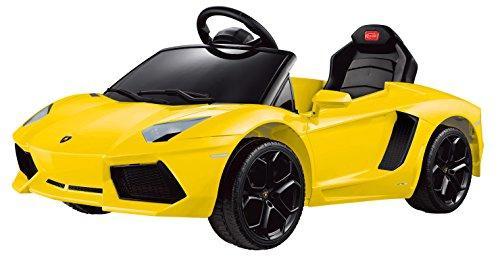 Lamborghini Aventador LP700-4 Rastar 6V - Battery Operated/Remote Controlled (Yellow)