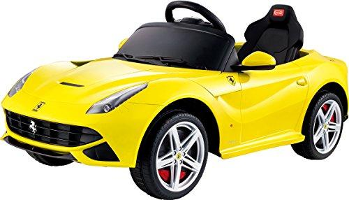 Ferrari F12 Rastar 12V - Battery Operated/Remote Controlled (Yellow)