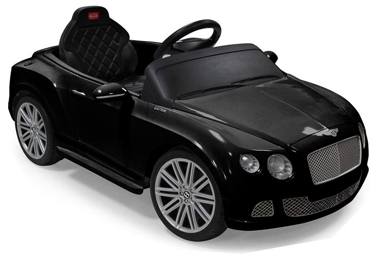 Bentley GTC Rastar 6V - Battery Operated/Remote Controlled (Black)