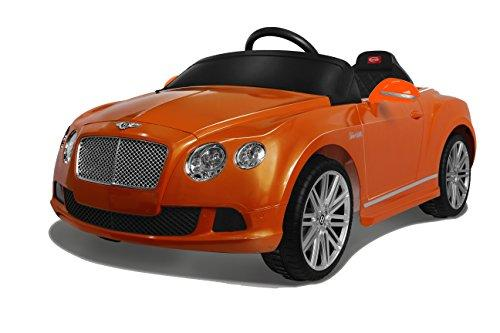 Bentley GTC Rastar 6V - Battery Operated/Remote Controlled (Orange)