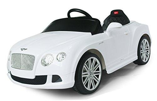 Bentley GTC Rastar 6V - Battery Operated/Remote Controlled (White)
