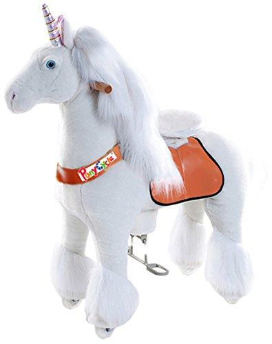 Vroom Rider x PonyCycle  Ride-On Unicorn for 3-5 Years Old - Small