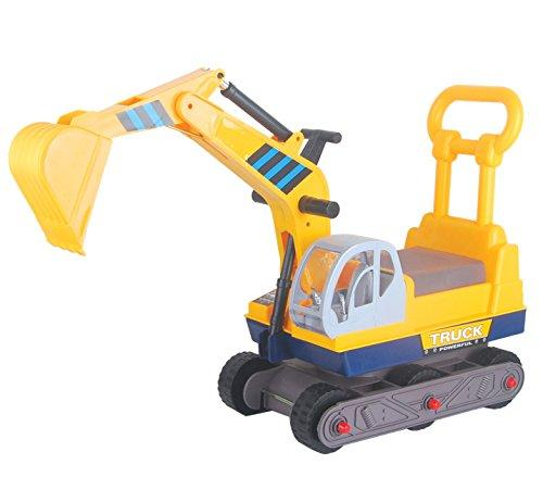 Ride-on 6-Wheel Excavator On Wheels with Back