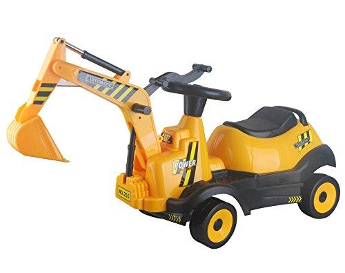 Battery Operated 6V Ride-on 4-Wheel Excavator