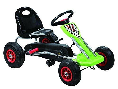Speedy Pedal Go-Kart w/ Pneumatic Tire - Green