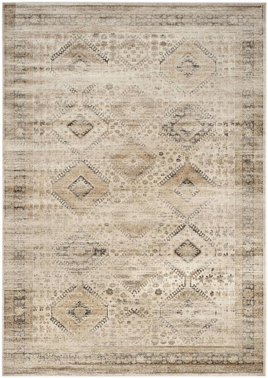 Safavieh VTG118 Vintage Premium Collection Patchwork Design Distressed Silky Viscose Area Rug
