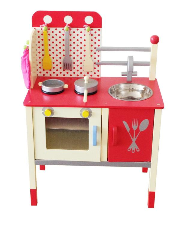 Cute & Fun Wooden Play Kitchen