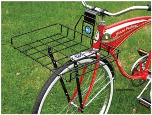 257 Multi-Fit Front Pizza Box Bicycle Basket