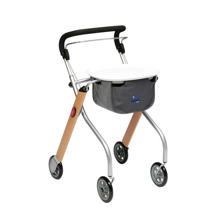 Let's Go Indoor Lightweight Mobility Walker Rollator