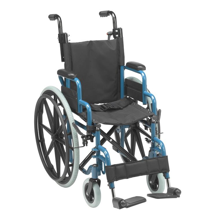 Drive Medical Wallaby Pediatric Folding Wheelchair [Item # wb1400-2gjb]