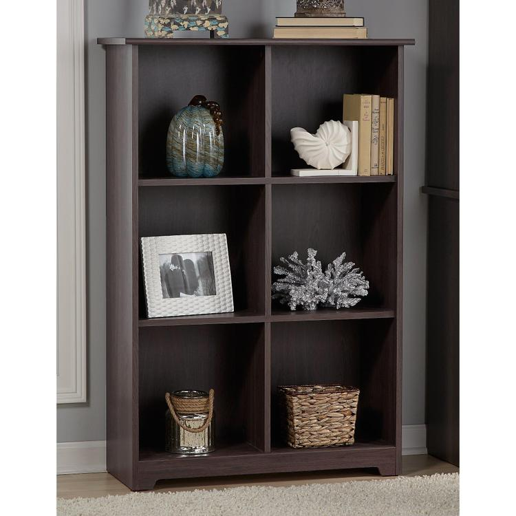 Bush Furniture Cabot 6 Cube Bookcase