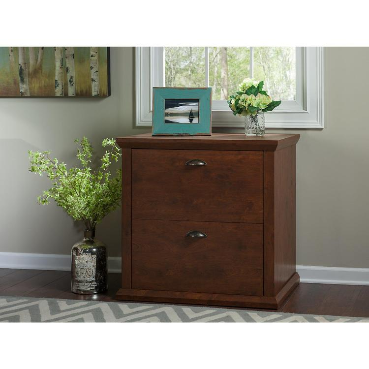 Bush Furniture Yorktown Lateral File Cabinet