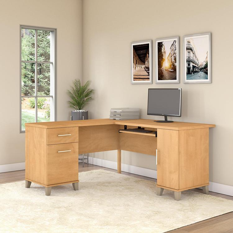 Bush Furniture Somerset 60W L Shaped Desk