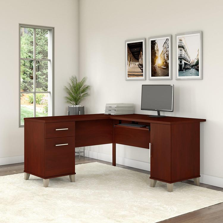 Somerset 60W L Shaped Desk