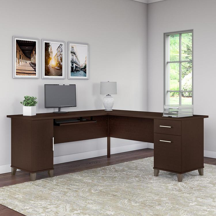 Somerset 72W L Shaped Desk