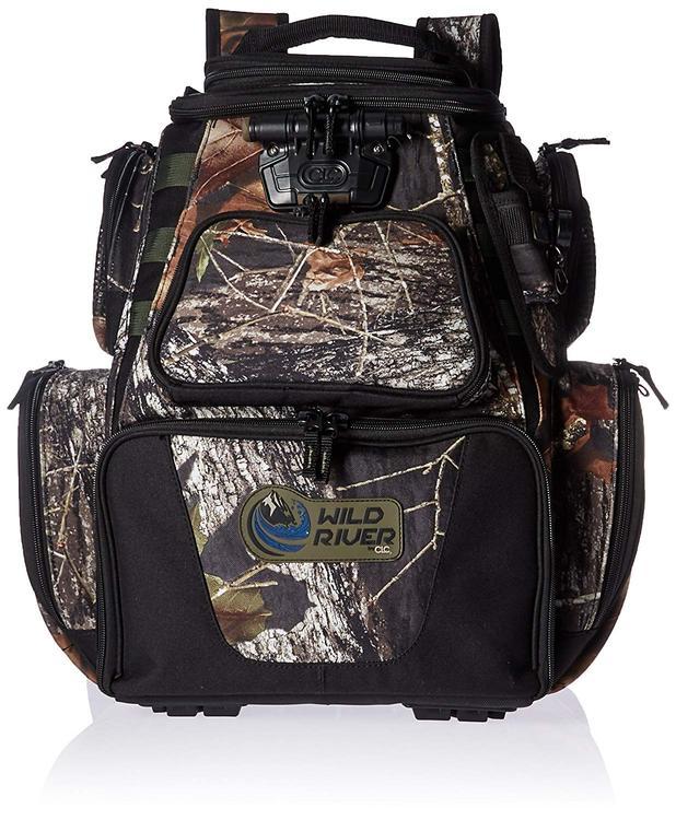 Wild River NOMAD Mossy Oak Tackle Tek Lighted Backpack w/o Trays [Item # WCN604]