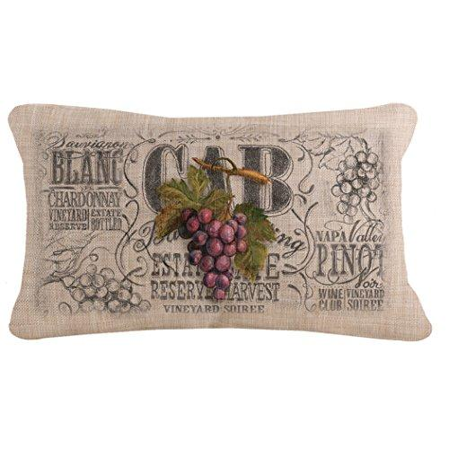 Wine Country 12X20 Pillow