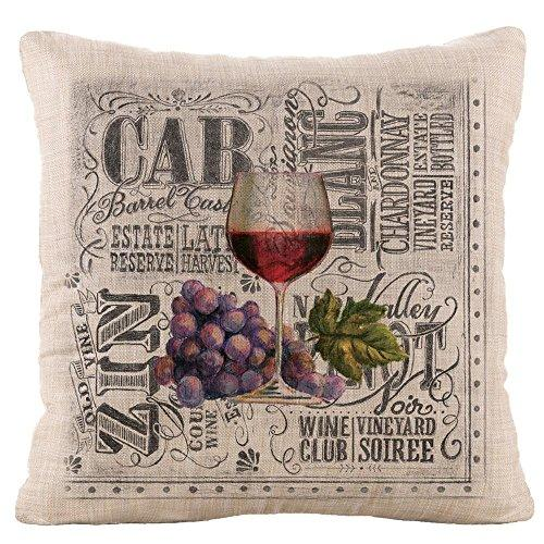 Wine Country 18X18 Pillow