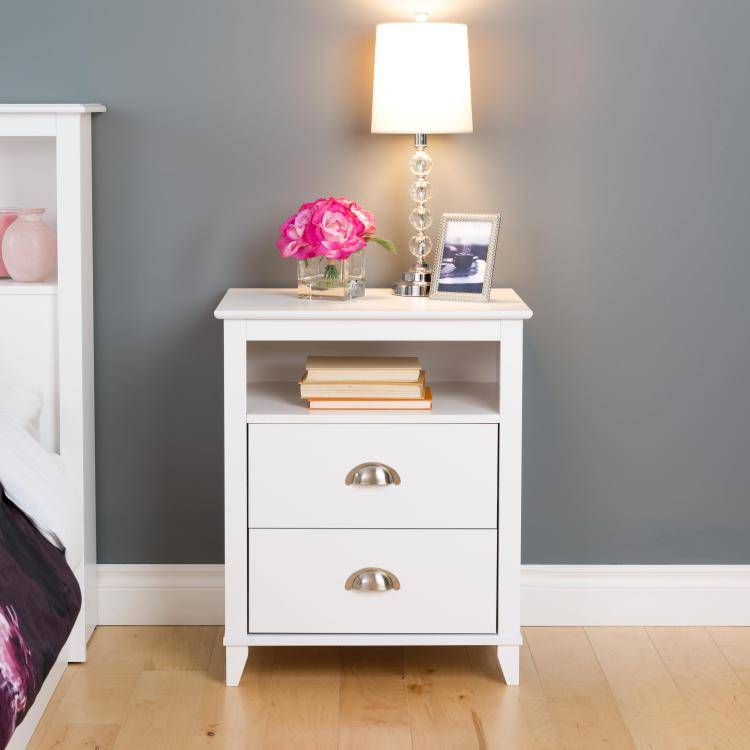 Yaletown 2-Drawer Tall Nightstand