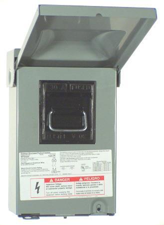 Wf2060U Disconnect 60A Ac