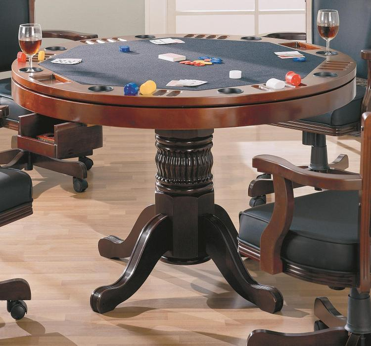 Coaster Norwitch 3-in-1 Oak Game Table