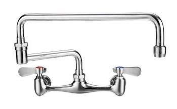 2-Handle Laundry/Utility Faucet in Polished Chrome