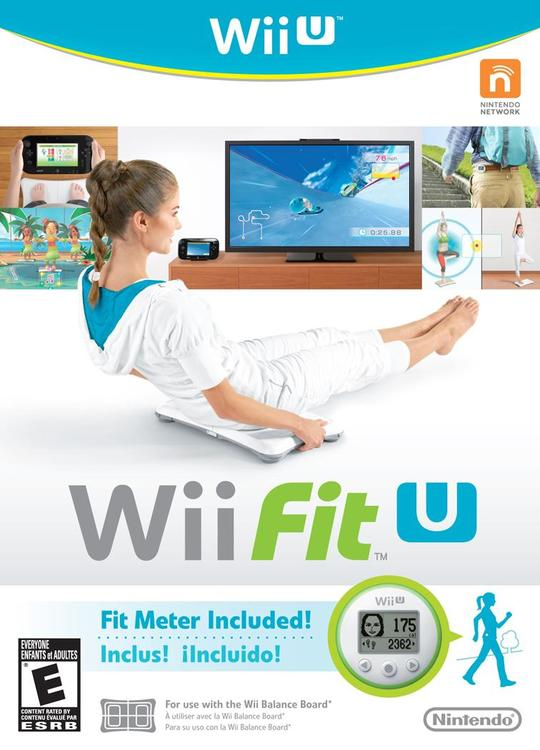 Wii U Fit Balance Board and Meter