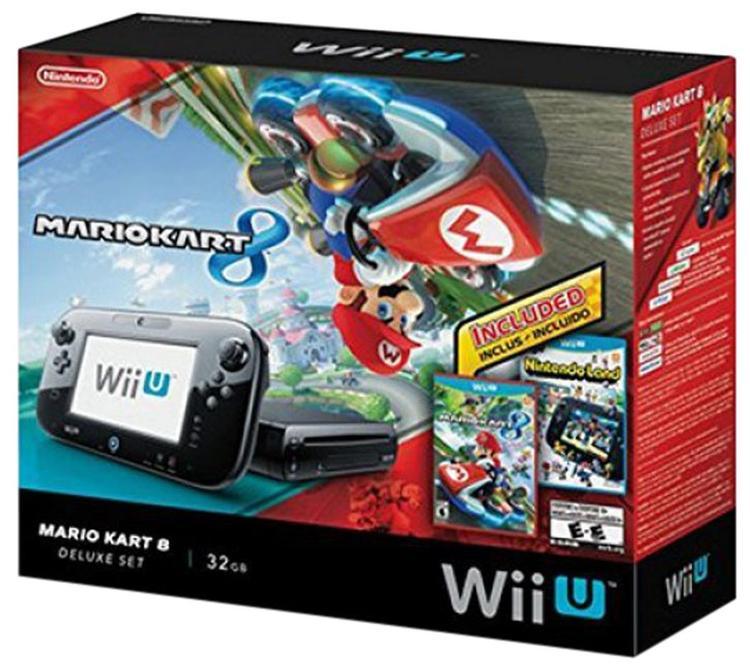 Wii U 32 GB Deluxe Set Bundle